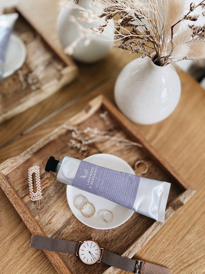 Lavender and Bergamot Hand Cream - MUD Urban Flowers