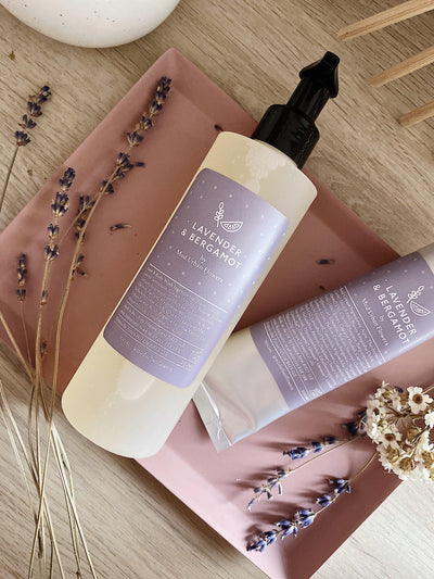 Lavender and Bergamot Hand Body Wash - MUD Urban Flowers