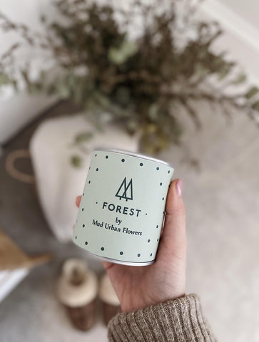 Forest Candle - MUD Urban Flowers