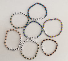 Load image into Gallery viewer, The Inspired Affirmations Bracelet Collection