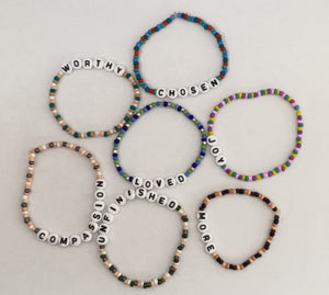 The Inspired Affirmations Bracelet Collection