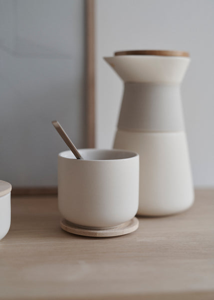 STELTON Theo Tea Cup w. Coaster - Made By Ethereal