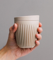 HUSKEE Cup and Lid - Natural - Made By Ethereal