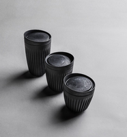 HUSKEE Cup and Lid - Charcoal - Made By Ethereal