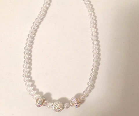 Clear Glitz Necklace