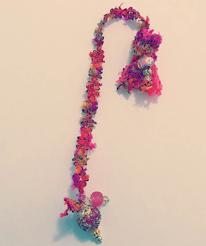 Fuchsia Galaxy Bookmark