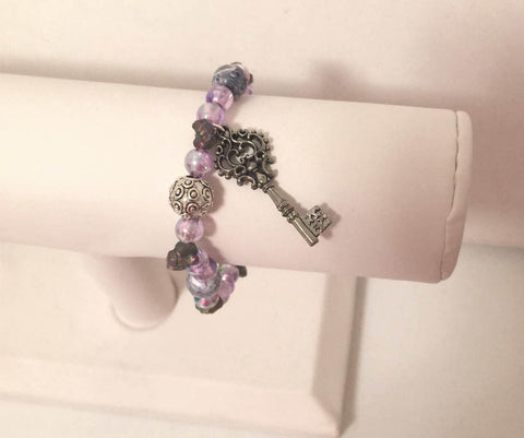 Purple Unlock Bracelet