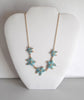 Turquoise Starfish Necklace Set