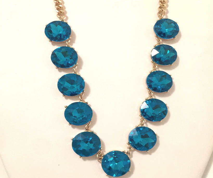 Turquoise Jewel Necklace