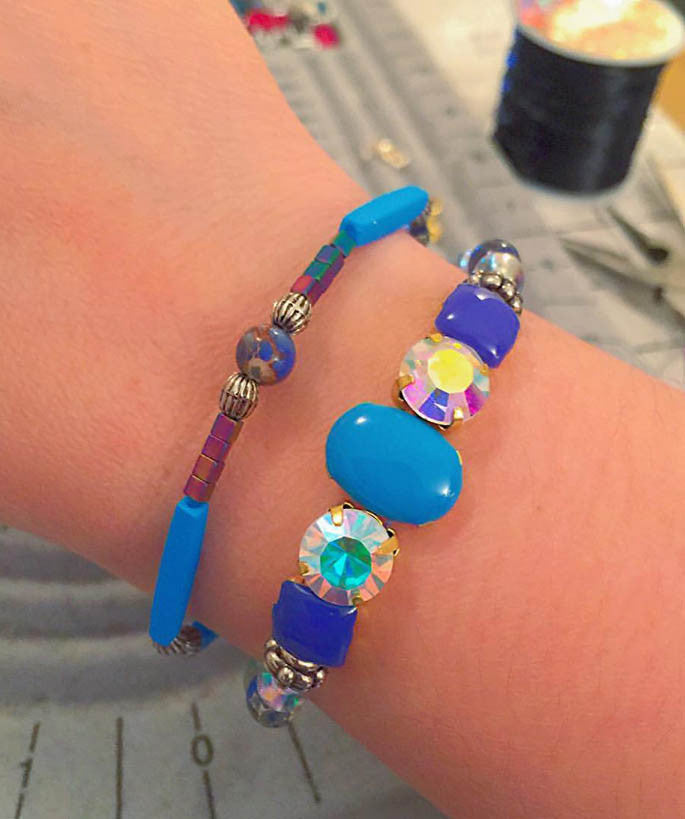 Galaxy Shine Bracelet Stack