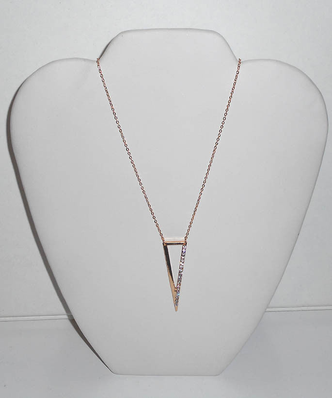 Triangle Bling Necklace