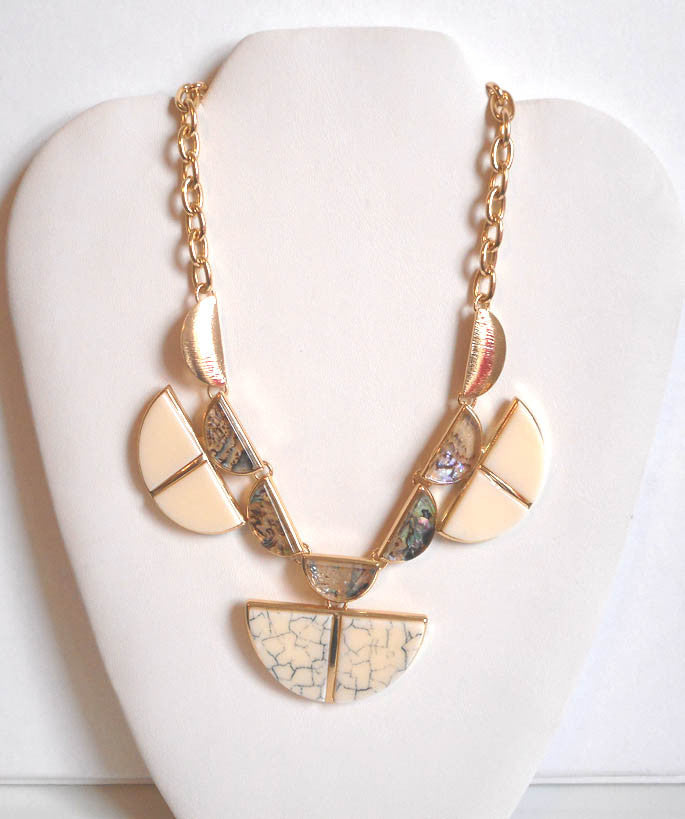 Aztec Abalone Necklace Set