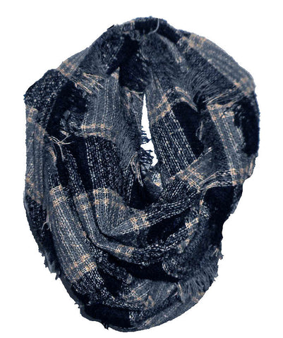 Navy Infinity Scarf
