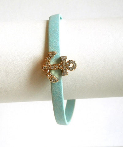 Anchor Accent Bracelet