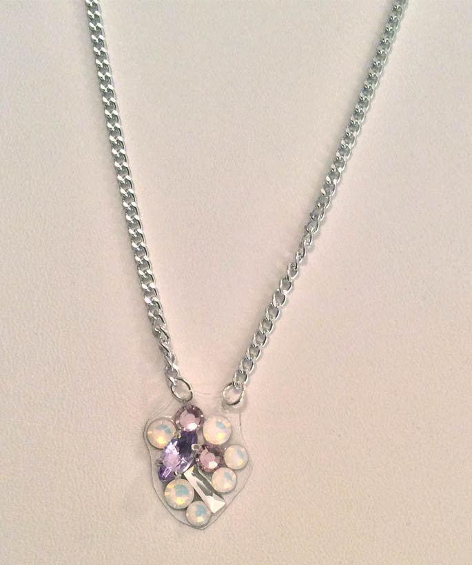 Lavender Opal Necklace