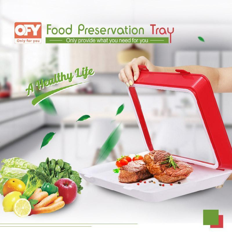 Rectangle Food Preservation Tray