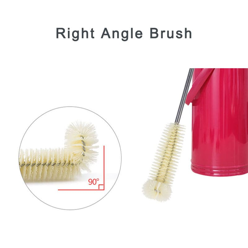 Hangable L-shaped Cup Cleaning Brush