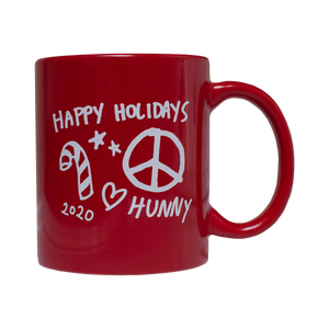 "HUNNY - SUPER LIMITED ""FACE"" HOLIDAY MUG"