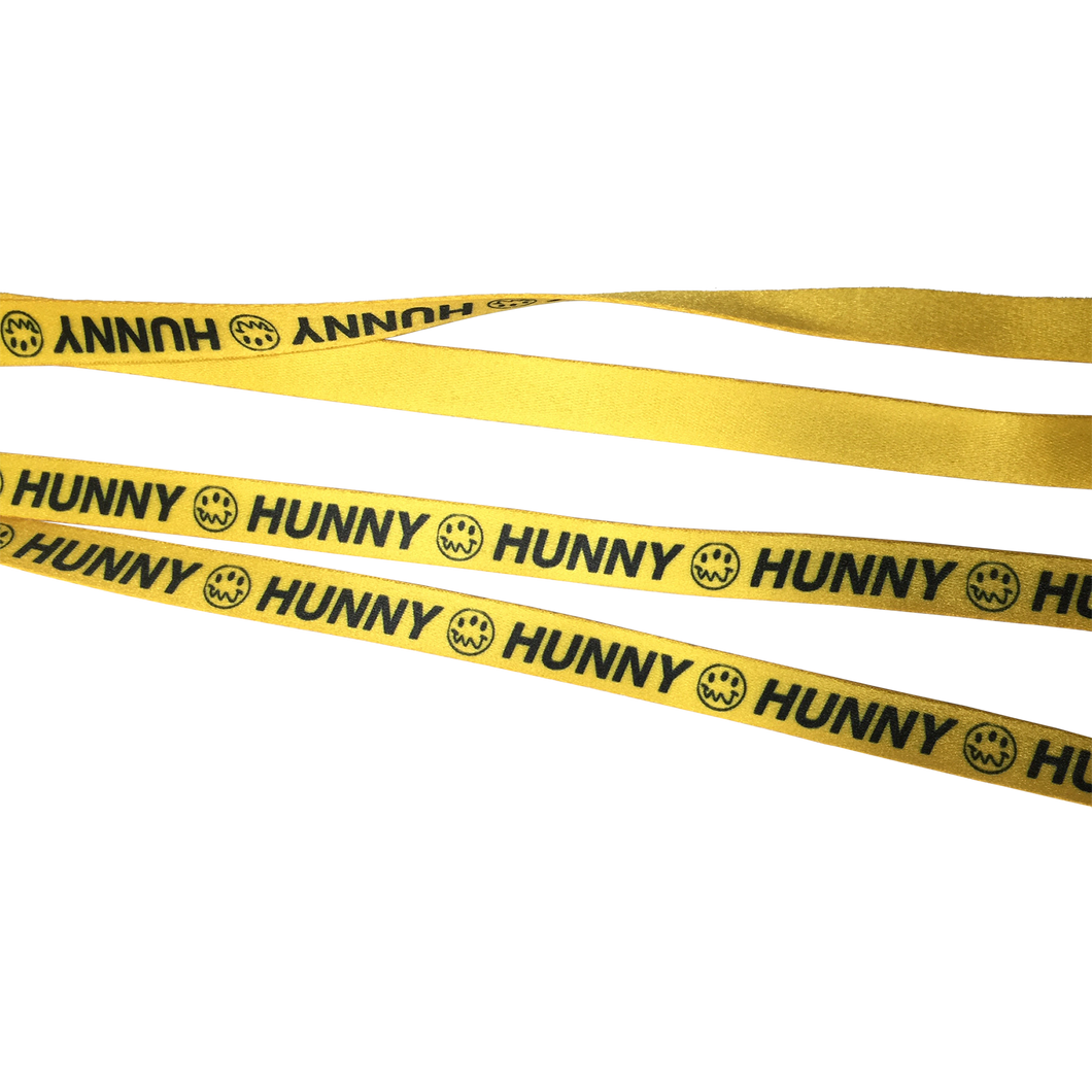 "HUNNY - ""FACE"" SHOELACES"