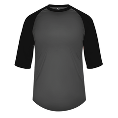 Baseball 3/4 Under Shirt Adult (Various Colors)