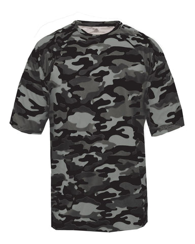 Camo Dri fit Tee Youth (Various Colors)