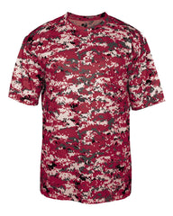 Digital Camo Dri Fit Tee Adult (Various Colors)