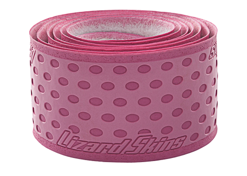 Lizard Skin Durasoft Polymer Bat Wrap - 1.1 mm Solid Color Pink