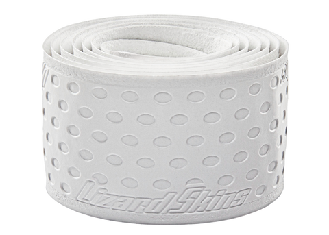 Lizard Skin Durasoft Polymer Bat Wrap - 1.1 mm Solid Color White