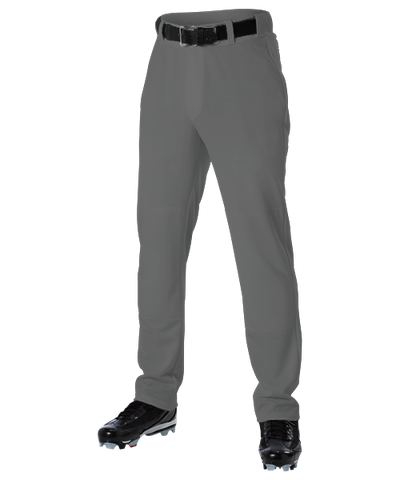 Alleson Open Bottom Baseball Pant Charcoal