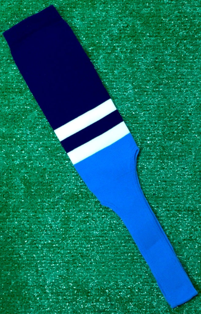 Baseball Stirrups 8 Quot Navy With Two White Stripes Columbia