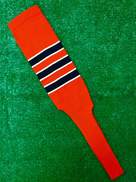 Baseball Stirrups 6 Quot Or 8 Quot Orange With Three Black Stripes