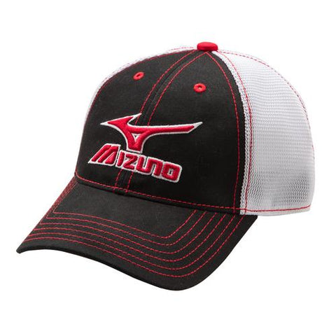 Mizuno Mesh Trucker Hat – Baseball World Miami e40750aa169d