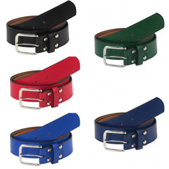 TCK Baseball Leather Belts