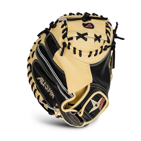 Allstar Pro Elite Catchers Mitt CM3000 Tan & Black