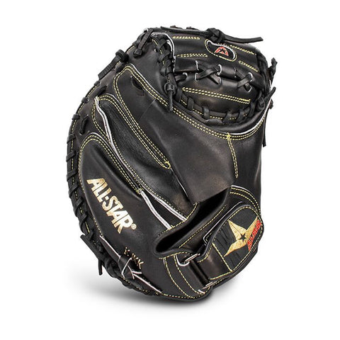 Allstar Pro Elite Catchers Mitt CM3000 Solid Black