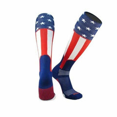 Uncle Sam USA Over the Calf Full Sock