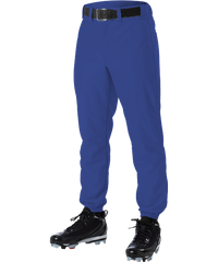 Alleson 605P 605PY Royal Baseball Pants with Elastic Bottom