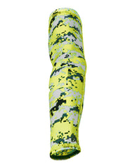 Safety Yellow Digital Camo Arm Sleeve