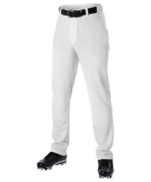 9297173f617 Alleson Open Bottom Baseball Pant White – Baseball World Miami