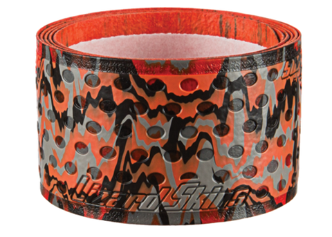 Lizard Skin Durasoft Polymer Bat Wrap - 1.1 mm Color Orange/ Grey/ Black Camo