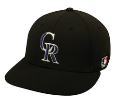 OC Sports MLB-595 Flex Fit Clolorado Rockies Home and Road Cap