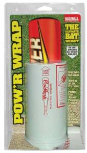 Pow'r Wrap Bat Weight for Baseball, 24-Ounce, White