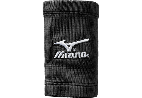 Mizuno 5 Inch Wristbands Black