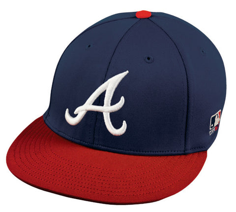 OC Sports MLB-595 Flex Fit Atlanta Braves Home Cap