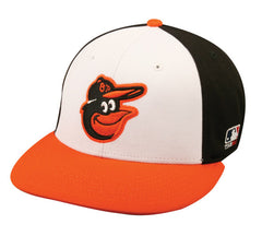 OC Sports MLB-595 Flex Fit Baltimore Orioles Home Cap