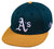 OC Sports MLB-595 Flex Fit Oakland Athletics Home Cap
