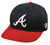 Outdoor Cap Co MLB-300 Atlanta Braves Home Cap