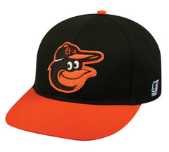 Outdoor Cap Co MLB-300 Baltimore Orioles Road Cap