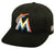 Outdoor Cap Co MLB-300 Miami Marlins Home and Road Cap