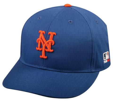 Outdoor Cap Co MLB-300 New York Mets Home and Road Cap